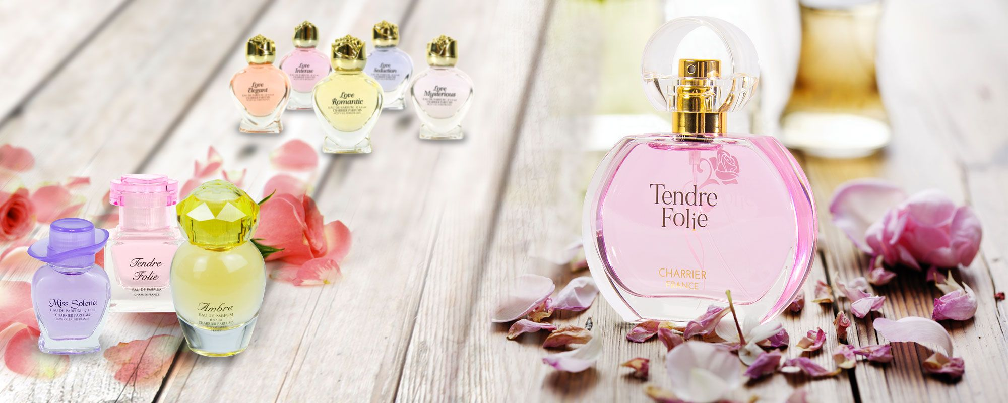 Charrier Parfums France Creator Of The Miniature Perfume Set And